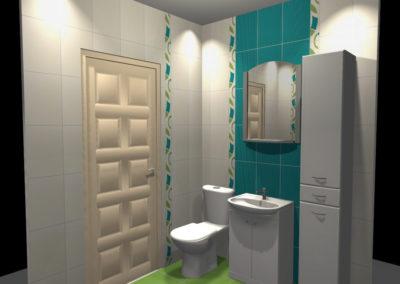 Projekt Łazienki Palmex - Pomaluj mój świat