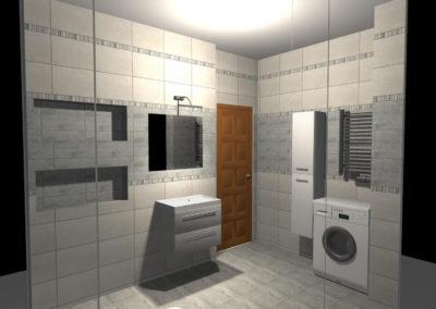 Projekt Łazienki Palmex - Przestrzeń dla dwojga
