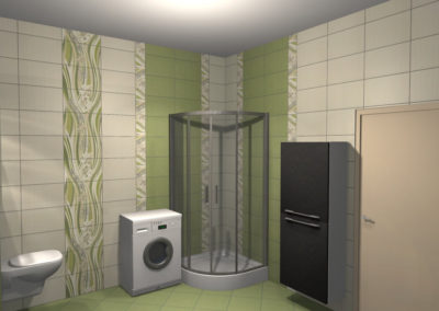 Projekt Łazienki Palmex - Green Inspiration