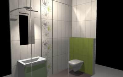 Projekt Łazienki Palmex – Green Apple