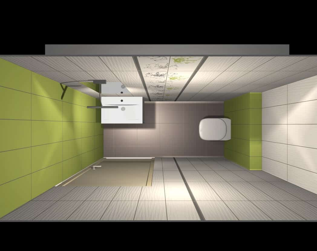 Projekt łazienki Palmex Green Apple Palmex
